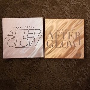 Urban decay after glow highlight palettes